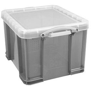 Really Useful Box Aufbewahrungsbox 35,0 l grau 48,0 x 39,0 x 31,0 cm