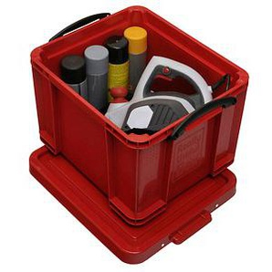 Really Useful Box Aufbewahrungsbox 35,0 l rot 48,0 x 39,0 x 31,0 cm