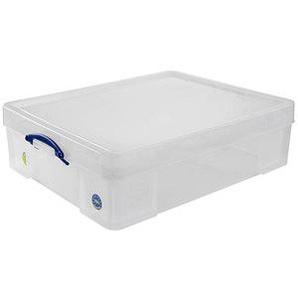 Really Useful Box Aufbewahrungsbox 70,0 l transparent 81,0 x 62,0 x 22,5 cm