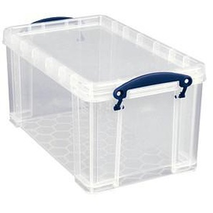 Really Useful Box Aufbewahrungsbox 8,0 l transparent 34,0 x 20,0 x 17,5 cm