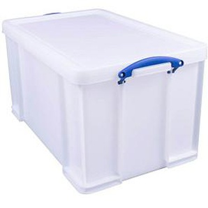 Really Useful Box Kunststoffbox 84,0 l weiß