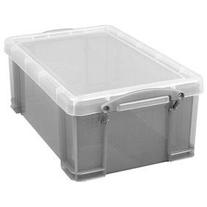 Really Useful Box Aufbewahrungsbox 9,0 l grau 39,5 x 25,5 x 15,5 cm