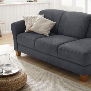 Home affaire Recamiere »Gotland«, dunkelgrau, Armlehne links, 194cm, FSC®-zertifiziert