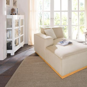 Home affaire Recamiere »Terry«, beige, Armteil links, 99cm, Recamiere links, FSC®-zertifiziert