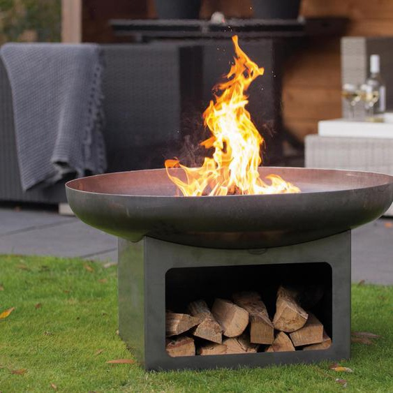 RedFire Fire-Pit »Juva Industrial« - Grau -