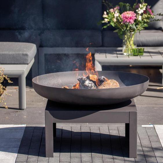 RedFire Fire-Pit »Kotka Industrial« - Schwarz -