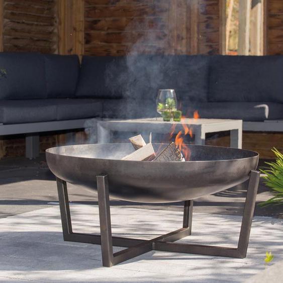RedFire Fire-Pit »Tornio Industrial« - Schwarz -