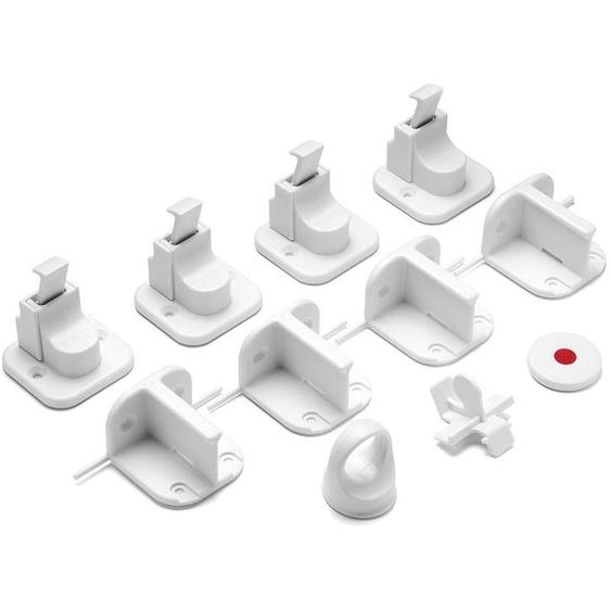 Reer Magnetschloss, Vorteilspack mit 4 Stück, kindersicherer Verschluss