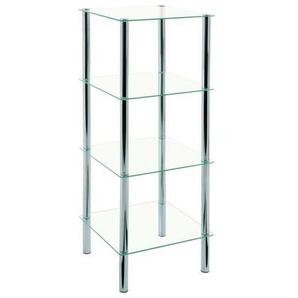 : Regal, Glas, Klar, B/H/T 39 107 39