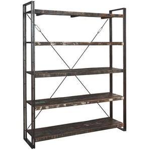 : Regal, Holz,Mangoholz, Braun, B/H/T 160 200 40