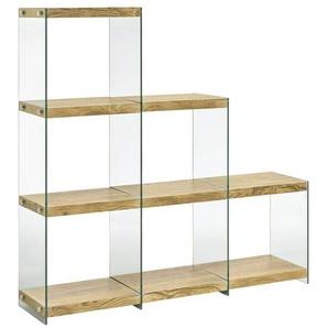 heine home Regal , mit transparenten Seitenteilen
