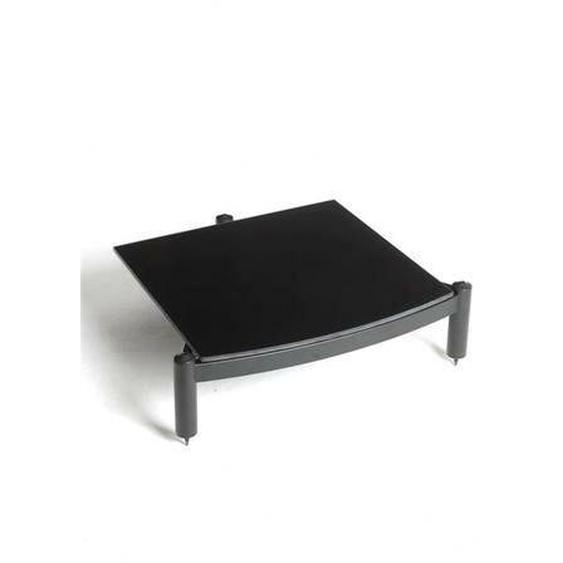 Regal-Modul mit Hi-Fi ARC Glas in glänzendem Schwarz