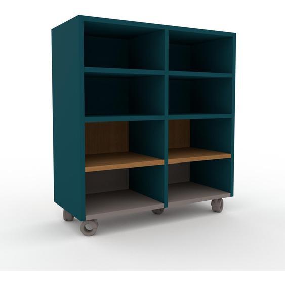 Regalsystem Blau - Flexibles Regalsystem: Hochwertige Qualität, einzigartiges Design - 79 x 87 x 35 cm, Komplett anpassbar