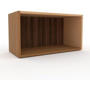 Regalsystem Eiche, Holz - Flexibles Regalsystem: Hochwertige Qualität, einzigartiges Design - 77 x 41 x 35 cm, Komplett anpassbar