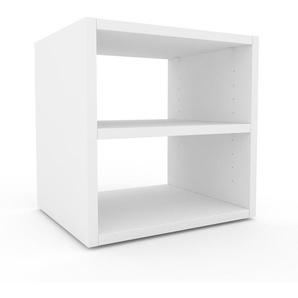 Regalsystem Weiß - Flexibles Regalsystem: Hochwertige Qualität, einzigartiges Design - 41 x 41 x 35 cm, Komplett anpassbar
