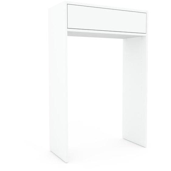 Regalsystem Weiß - Flexibles Regalsystem: Schubladen in Weiß - Hochwertige Materialien - 77 x 118 x 35 cm, Komplett anpassbar