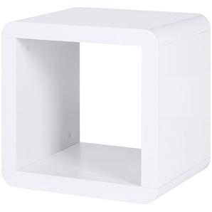 Regalwürfel   Polar ¦ weiß ¦ Maße (cm): B: 43 H: 43 T: 35 Regale  Raumteiler » Höffner