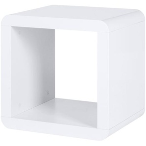 Regalwürfel | weiß | 43 cm | 43 cm | 35 cm | Möbel Kraft
