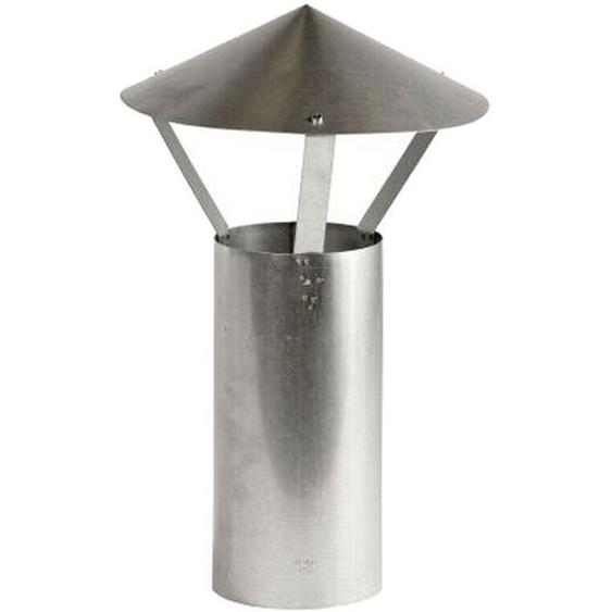 Regenhut 120 Ø Feueraluminiert 0,6mm Stark Ofenrohr Kaminofen
