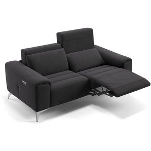 Relaxcouch BELLA mit Relaxfunktion Stoffsofa Stoffcouch