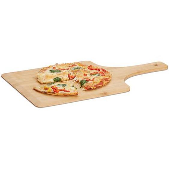 Relaxdays Pizzaschieber XL Bambus