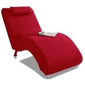 Relaxliege, rot, 66cm, FSC-Zertifikat, , , FSC®-zertifiziert, COLLECTION AB