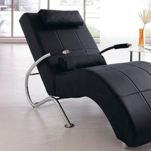 Relaxliege, schwarz, Mit Kippfunktion, 78cm, FSC-Zertifikat, , , FSC®-zertifiziert, COLLECTION AB