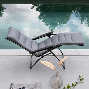 Relaxliege Evolution Be Comfort Lafuma silber, 114x85 cm