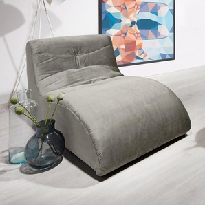 Relaxliege, grau, 85cm, FSC-Zertifikat, , , FSC®-zertifiziert, DOMO collection