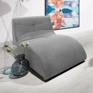 Relaxliege, silber, 85cm, FSC-Zertifikat, , , FSC®-zertifiziert, DOMO collection
