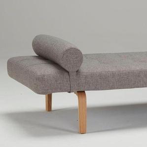 Relaxliege »Napper«, grau, Bow-Beine, 200cm, INNOVATION™
