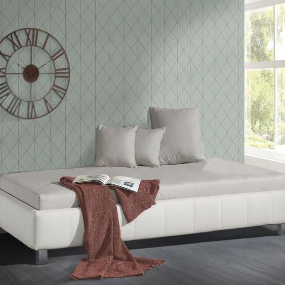 Relaxliege Nuca, schwarz, 90x200 cm, ohne Lattenrost - ohne Matratze