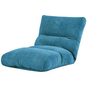 Relaxliege  Tabea ¦ türkis/petrol ¦ Maße (cm): B: 87 H: 29 T: 187 Polstermöbel  Relaxliegen » Höffner