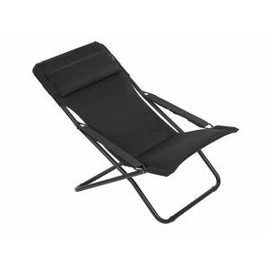 Relaxliege Transabed Lafuma schwarz, 88x66.5 cm