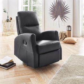 ATLANTIC home collection Relaxsessel, schwarz, FSC-Zertifikat, ,