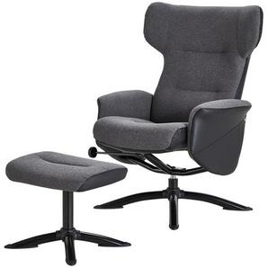 Relaxsessel grau - Stoff Belana ¦ grau Polstermöbel  Sessel  Fernsehsessel » Höffner