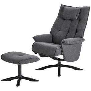 Relaxsessel grau - Stoff Betsy ¦ grau Polstermöbel  Sessel  Fernsehsessel » Höffner