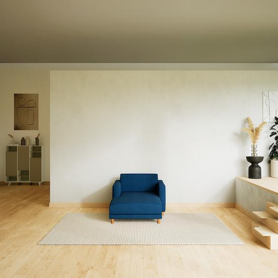 Relaxsessel Jeansblau - Eleganter Relaxsessel: Hochwertige Qualität, einzigartiges Design - 104 x 75 x 162 cm, Individuell konfigurierbar