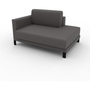 Relaxsessel Kiesgrau - Eleganter Relaxsessel: Hochwertige Qualität, einzigartiges Design - 132 x 75 x 98 cm, Individuell konfigurierbar