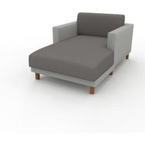 Relaxsessel Lichtgrau - Eleganter Relaxsessel: Hochwertige Qualität, einzigartiges Design - 104 x 75 x 162 cm, Individuell konfigurierbar