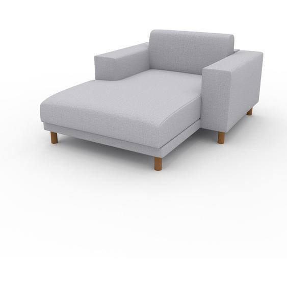 Relaxsessel Lichtgrau - Eleganter Relaxsessel: Hochwertige Qualität, einzigartiges Design - 128 x 75 x 162 cm, Individuell konfigurierbar