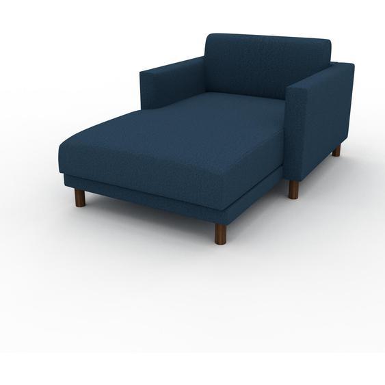 Relaxsessel Ozeanblau - Eleganter Relaxsessel: Hochwertige Qualität, einzigartiges Design - 104 x 75 x 162 cm, Individuell konfigurierbar