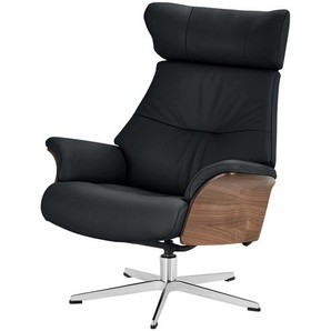 Relaxsessel - schwarz - 80 cm - 101 cm - 78 cm   Möbel Kraft