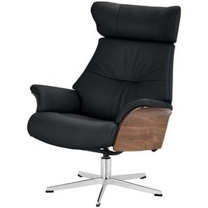 Relaxsessel - schwarz - 80 cm - 104,5 cm - 78 cm   Möbel Kraft