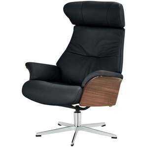 Relaxsessel - schwarz - 80 cm - 109,5 cm - 78 cm   Möbel Kraft