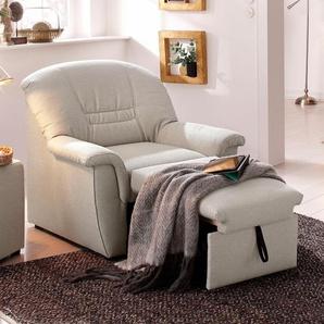 Home affaire Relaxsessel »Zoe«, mit Federkern, FSC®-zertifiziert, beige, mit Relaxfunktion