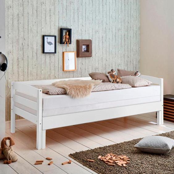 Relita Funktionsbett 90x200 cm weiß Kinder Jugendbetten Jugendmöbel Kindermöbel Daybetten