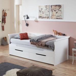 Relita Funktionsbett »Lina«, 90 x 200 auf 180 x 200 cm ausziehbar, mit 2 Schubladen