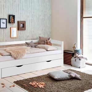 Relita Funktionsbett, mit Lattenrost, Bettschublade und Auszug auf 180x200 cm