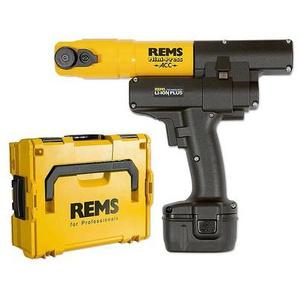 REMS Mini-Press ACC Radial-Pressmaschine Li-Ion Basis-Pack mit Koffer - 578013